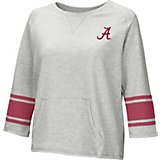 Colosseum Athletics Women's University of Alabama Parallel 3/4 Sleeve Pullover