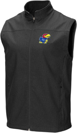 Colosseum Athletics Men's University of Kansas Bobsled Vest