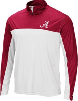 Colosseum Athletics Men's University of Alabama Luge 1/4-Zip Windshirt
