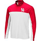 Colosseum Athletics Men's University of Houston Luge 1/4-Zip Windshirt