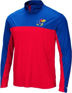 Men's University of Kansas Luge 1/4-Zip Windshirt