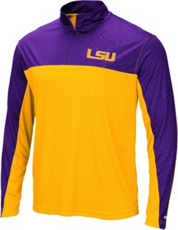 Men's Louisiana State University Luge 1/4-Zip Windshirt