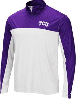 Men's Texas Christian University Luge 1/4-Zip Windshirt