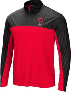 Men's Texas Tech University Luge 1/4-Zip Windshirt
