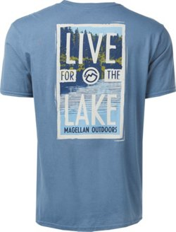 Magellan Outdoors Men's Live for the Lake T-shirt