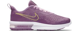 Nike Girls' Air Max Sequent 4 Running Shoes