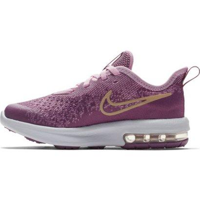 9b51ebf9f01e06 Nike Girls  Preschool Air Max Sequent 4 Running Shoes