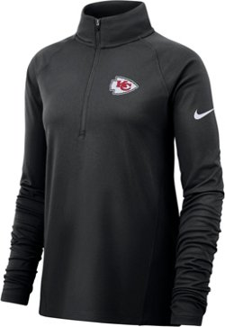 Nike Women's Kansas City Chiefs Encore 1/2-Zip Jacket