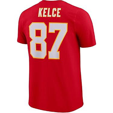 newest 95173 25117 Nike Men's Kansas City Chiefs Travis Kelce 87 Player Pride 3.0 T-shirt
