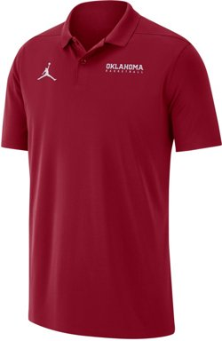 Nike Men's University of Oklahoma Victory Solid Polo Shirt