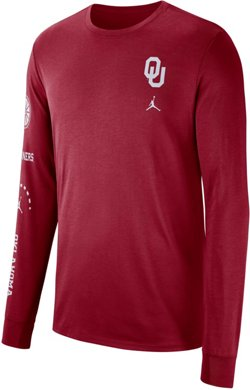 Nike Men's University of Oklahoma Dry Elevation Long Sleeve T-shirt