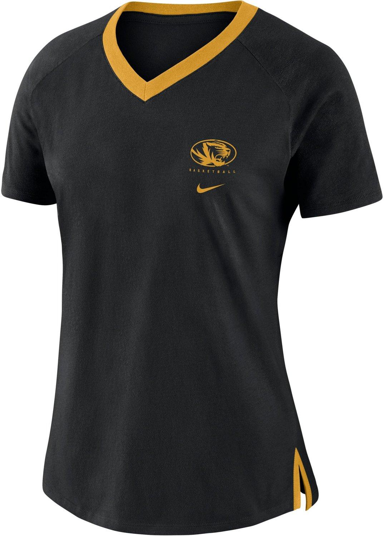 half off 4ee93 a5a5d Nike Women's University of Missouri Basketball Fan T-shirt