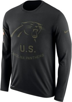 Men's Carolina Panthers Salute to Service Long Sleeve T-shirt