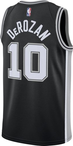 Nike Men's San Antonio Spurs DeMar DeRozan 10 Icon Edition Swingman Jersey