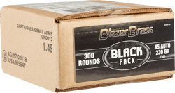 Blazer Brass Black Pack .45 ACP 230-Grain Handgun Ammunition