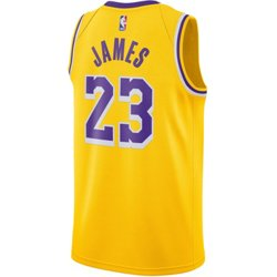 Men's Los Angeles Lakers LeBron James 23 Icon Edition Swingman Jersey