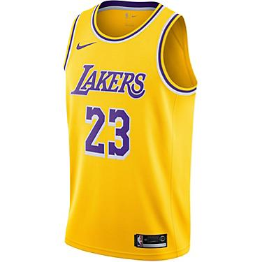 best authentic f0d00 ab915 Nike Men's Los Angeles Lakers LeBron James 23 Icon Edition Swingman Jersey