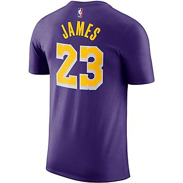 4f5d4faf4 Nike Men's Los Angeles Lakers LeBron James 23 Dri-FIT T-shirt
