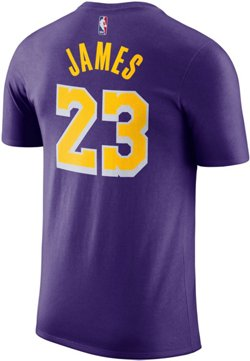 Nike Men's Los Angeles Lakers LeBron James 23 Dri-FIT T-shirt