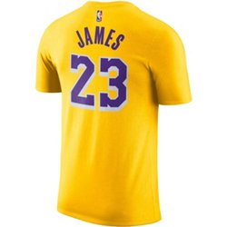 Men's Los Angeles Lakers LeBron James 23 Dri-FIT T-shirt