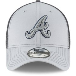 Men's Atlanta Braves Grayed Out Neo 39THIRTY Cap