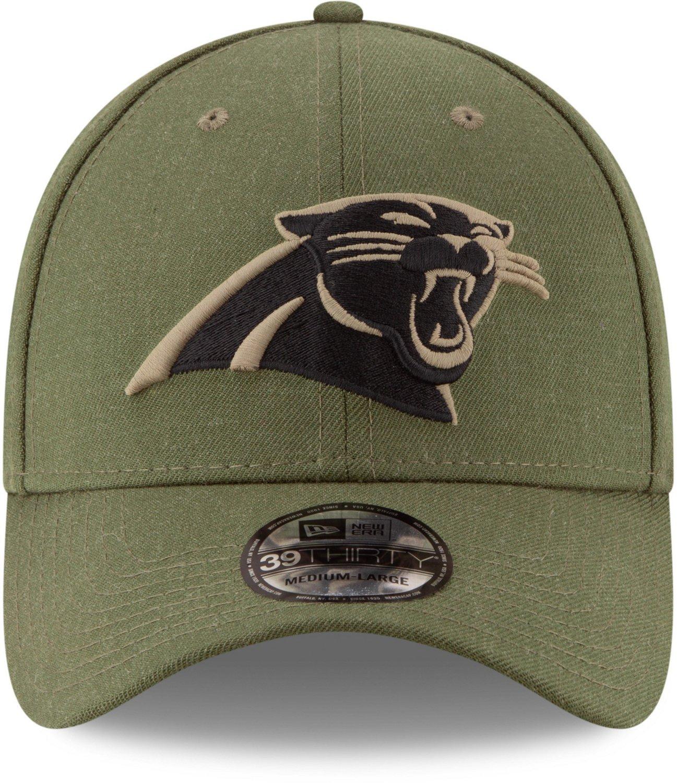 New Era Men s Carolina Panthers Salute to Service 39THIRTY Cap  2900b2d87