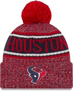 New Era Men's Houston Texans NFL 18 Sport Knit Hat