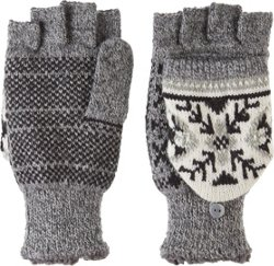 Manzella Women's Snow Star Convertible Gloves 3-Pack