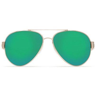 279eb6a3a4a Costa Del Mar South Point Mirrored Aviator Sunglasses