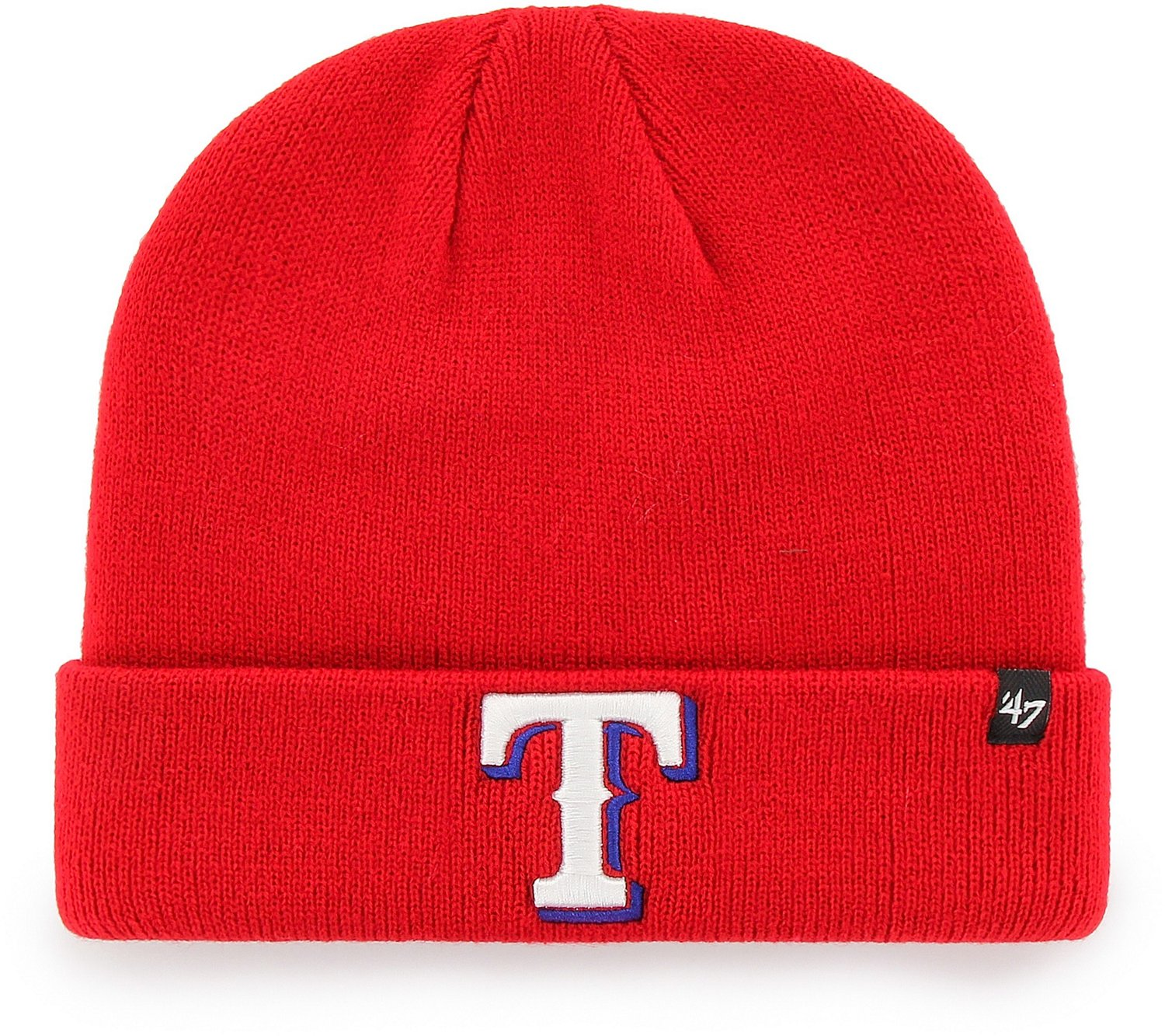 buy popular 26590 e8651 Display product reviews for  47 Men s Texas Rangers Raised Cuff Knit Hat