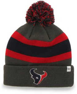 '47 Men's Houston Texans Breakaway Cuff Knit Hat