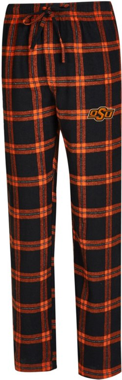 Concepts Sport Men's Oklahoma State University Homestretch Flannel Sleep Pants