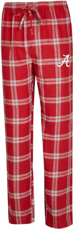 Concepts Sport Men's University of Alabama Homestretch Flannel Sleep Pants