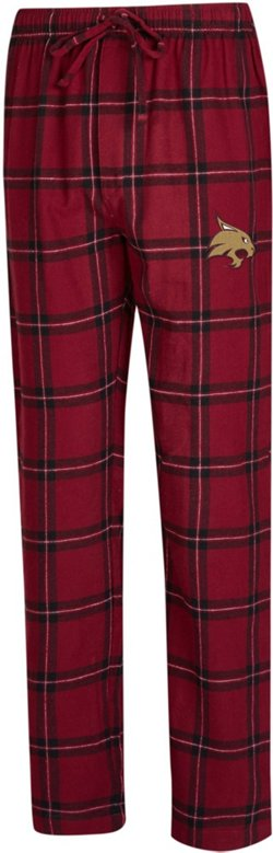 Concepts Sport Men's Texas State University Homestretch Flannel Sleep Pants