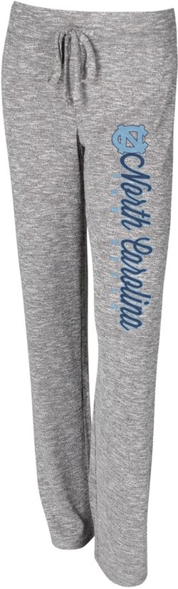Concepts Sport Women's University of North Carolina Layover Knit Pants
