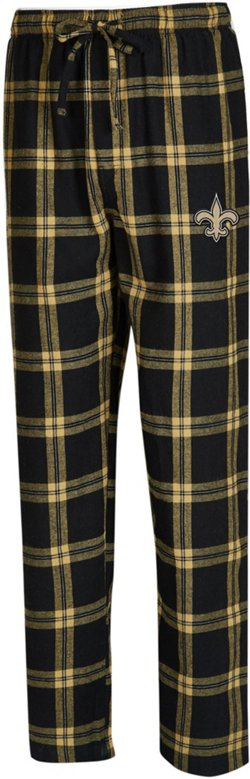 Concepts Sport Men's New Orleans Saints Homestretch Flannel Pajama Pants