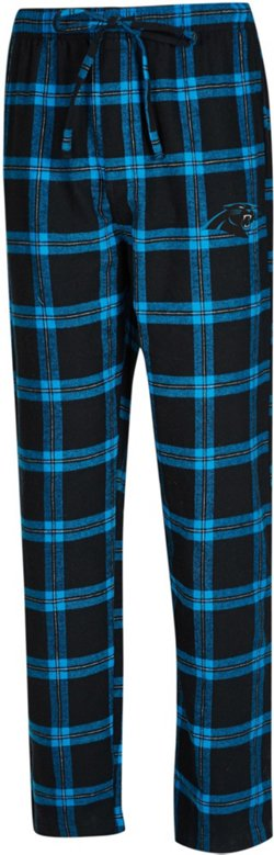 Men's Carolina Panthers Homestretch Flannel Pajama Pants