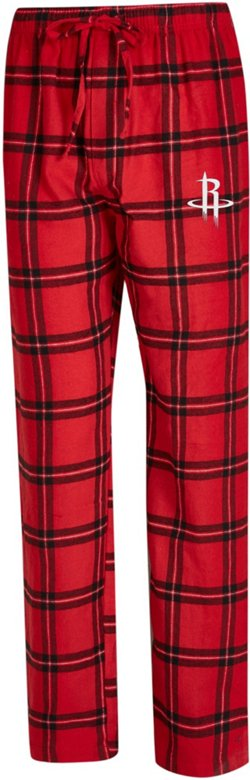 Concepts Sport Men's Houston Rockets Homestretch Flannel Pajama Pants