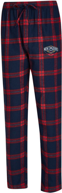Concepts Sport Men's New Orleans Pelicans Homestretch Flannel Pajama Pants