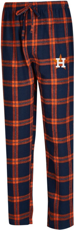 Concepts Sport Men's Houston Astros Homestretch Flannel Sleep Pants