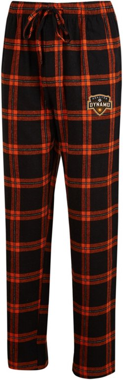 Concepts Sport Men's Houston Dynamo Homestretch Flannel Pants