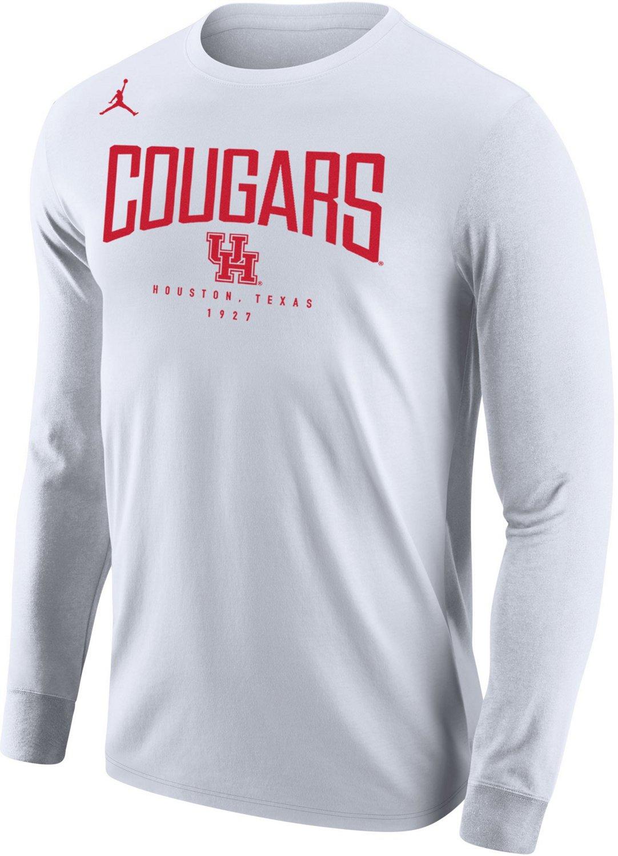 647aaaaeeb0ce2 Jordan Men s University of Houston Core Long Sleeve T-shirt