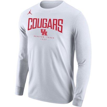 e4d57ec9d58db3 Jordan Men s University of Houston Core Long Sleeve T-shirt