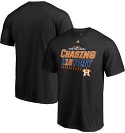 Majestic Men's Houston Astros 2018 Division Champions Locker Room T-Shirt