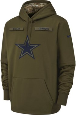 Nike Men's Dallas Cowboys Salute to Service Pullover Hoodie