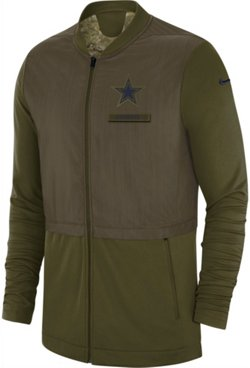 Nike Men's Dallas Cowboys Salute To Service Elite Hybrid Jacket