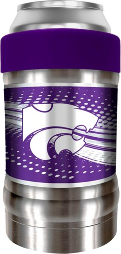 Great American Products Kansas State University Dynasty Drinkware Locker 12 oz Can/Bottle Holder
