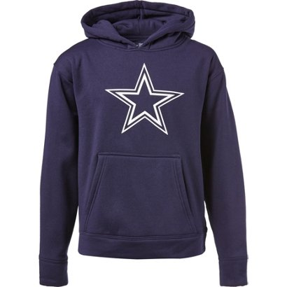 65bb258c4 Dallas Cowboys Boys  Logo Premier Performance Hoodie