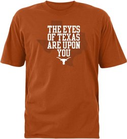 We Are Texas Men's University of Texas Eyes State T-shirt