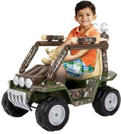 RollPlay Kids' 6 V Camo Dune Buggy